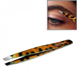 Pro Impressions - Leopard Slant Tweezer