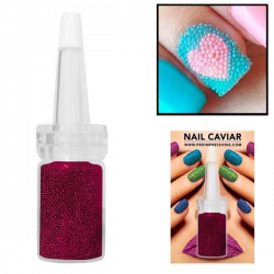 Magenta Nail Caviar - 14g