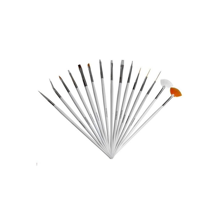 Nail Art Brush Set Pro Impressions