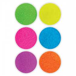 Neon Glitters - 6 Pack