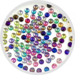 Large Round Rainbow Crystals