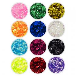 Chunky Glitters - 12 Pack