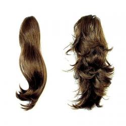 Hair Piece Dark Brown - No.8