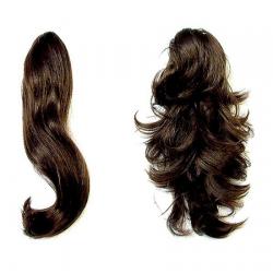 Hair Piece Sable Brown - No.4