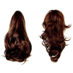 Hair Piece Natural Brown - No. 33