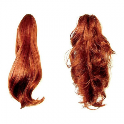 Hair Piece Mahogany Red - No.130