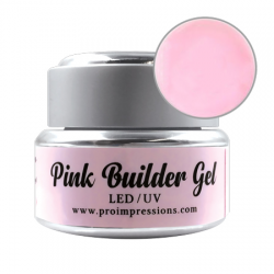 LED / UV Pink Builder Gel - 15ml