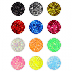 Tinsel Glitter 12PK
