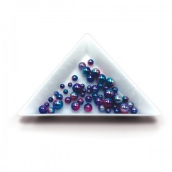 Triangular Nail Art Tray