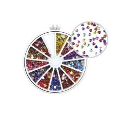 Heart Rainbow Crystals