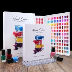 Nail Colour Display Book