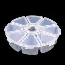 Round Nail Art Storage Pot