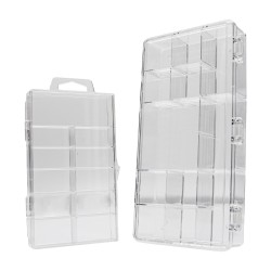 Empty Nail Tip Storage Case - 100 Nail Tip Pack