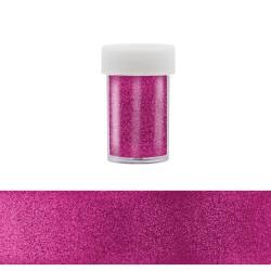 Nail Art Transfer Foil - Magenta Glitter