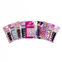 Nail Art Stickers - 10 Variety Pack