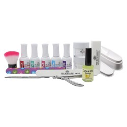 Pro Impressions - 2 in 1 - Dip Powder 15 Piece French Manicure Kit