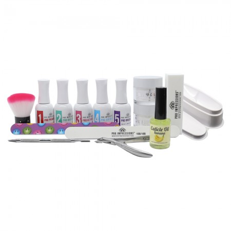 2 in 1 - Dip Powder 15 Piece French Manicure Kit